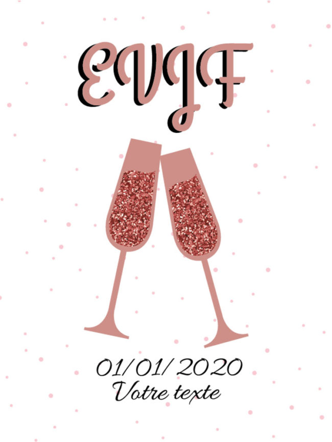 Pochette EVJF Cheers