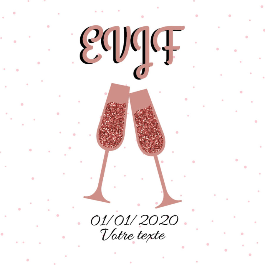 T-shirt EVJF Cheers