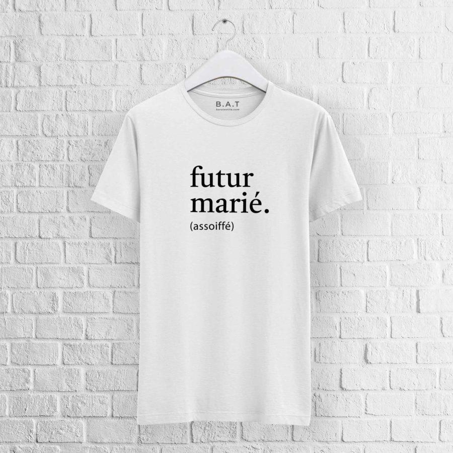 T-shirt EVG Futur marié
