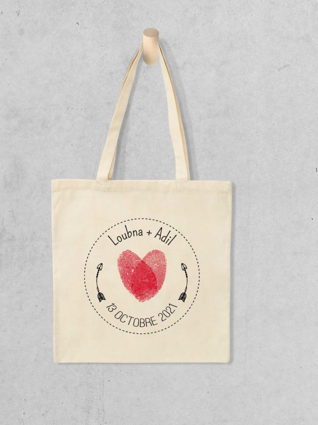 Tote bag Save the date 12
