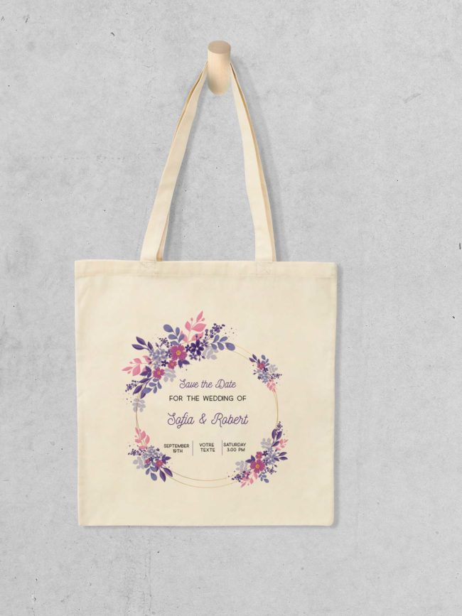 Tote bag Save the date 7