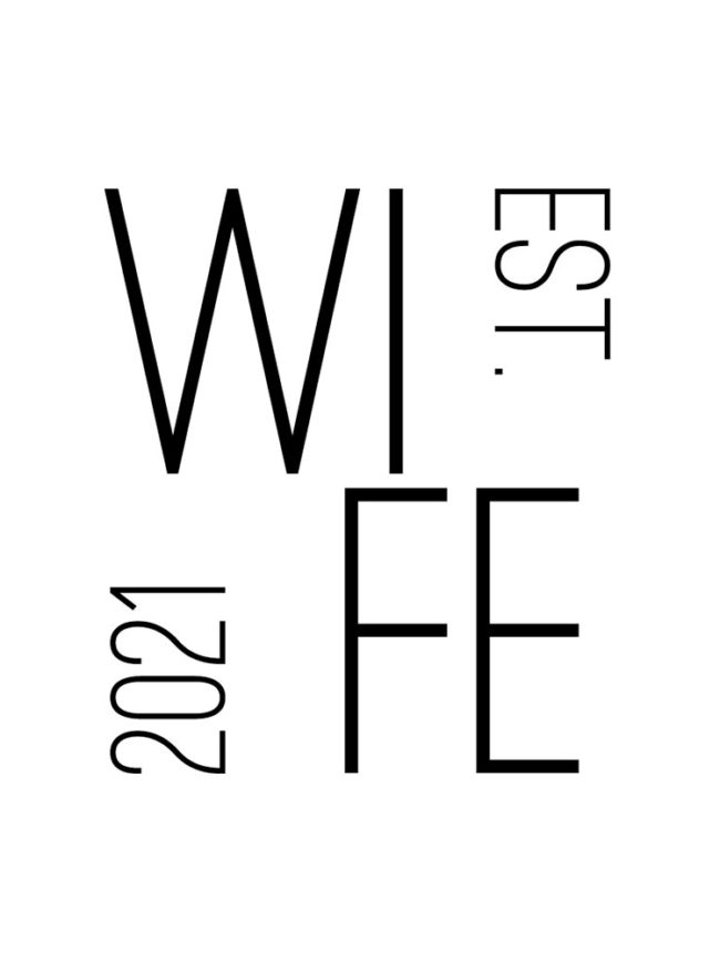 Pochette Save the date – Wife