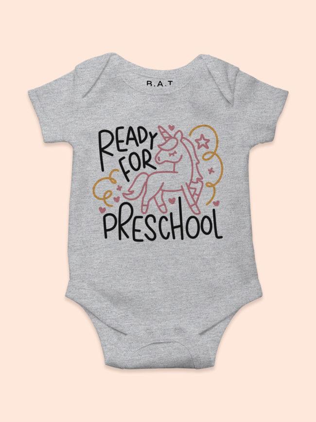 Body Preschool licorne