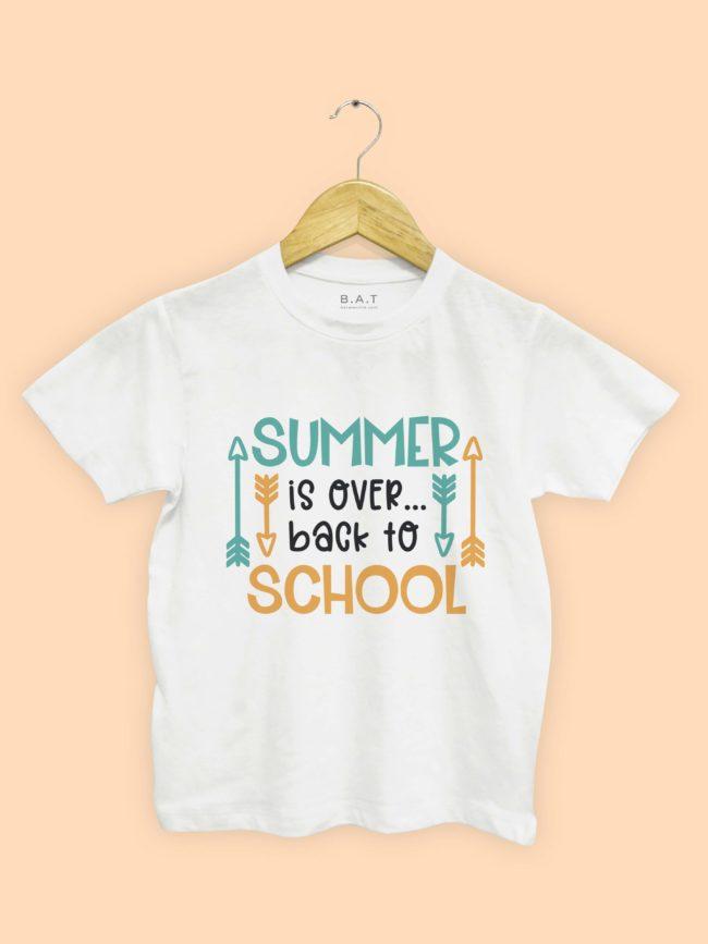 T-shirt Summer is over