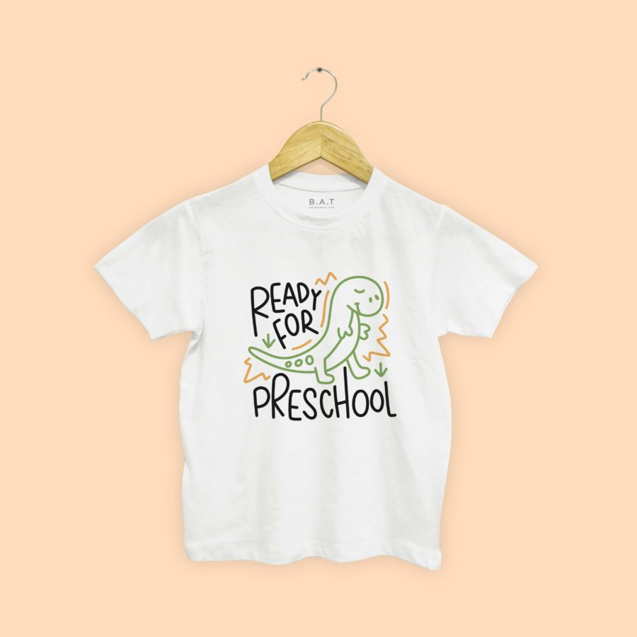 T-shirt Preschool dino