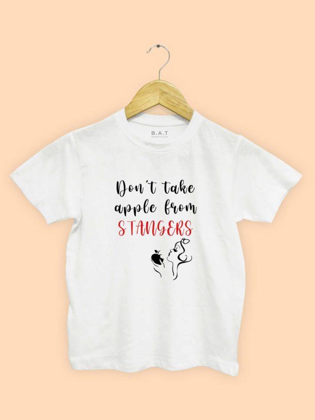 T-shirt Don't take