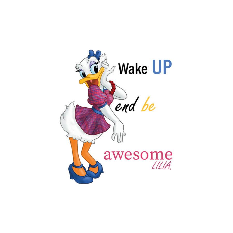 Pochette Daisy – Wake up