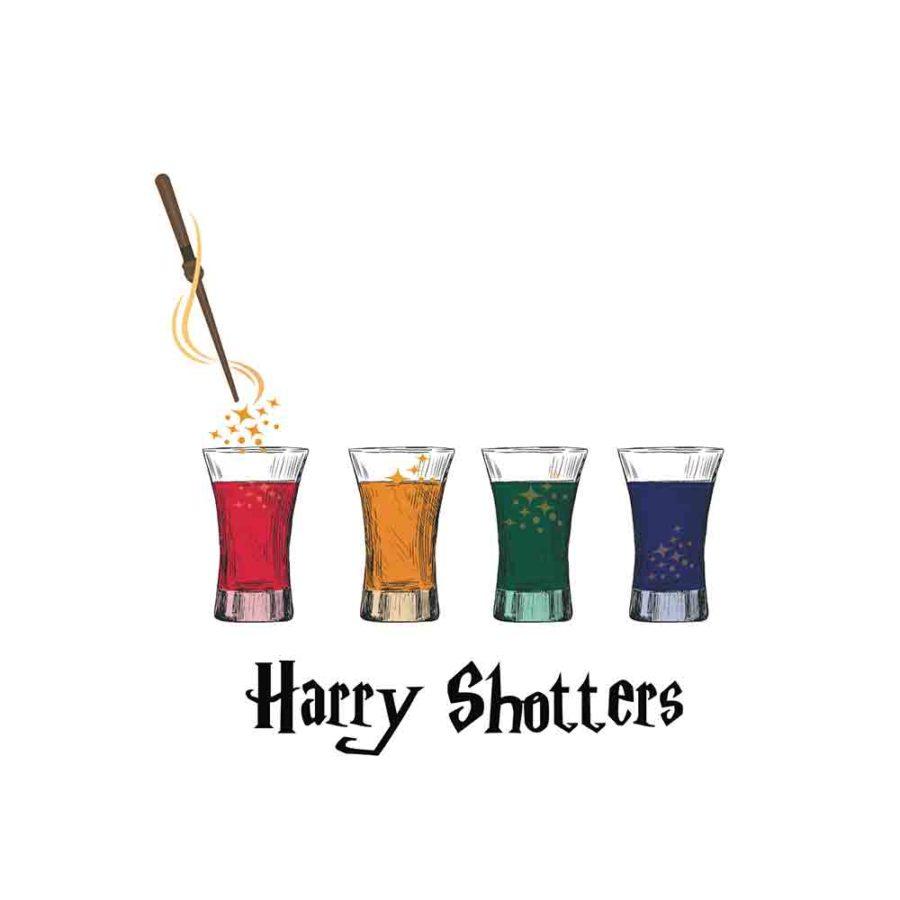 Pochette Harry shotters