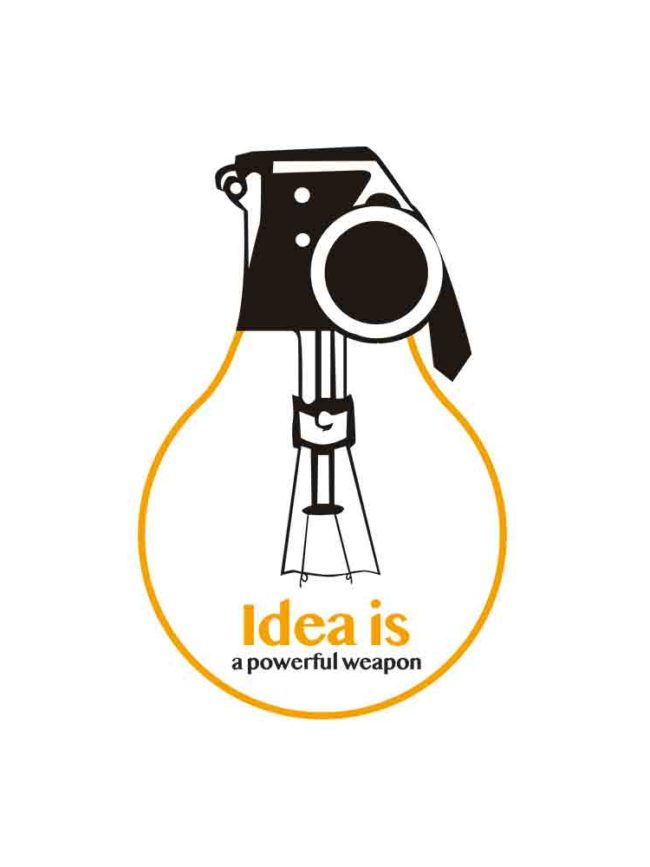 T-shirt Idea is a weapon