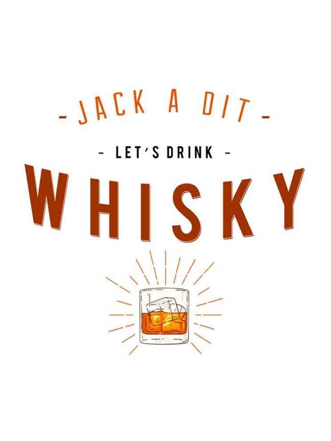 T-shirt Jack a dit