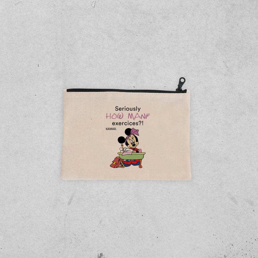 Pochette Minnie – Excercices
