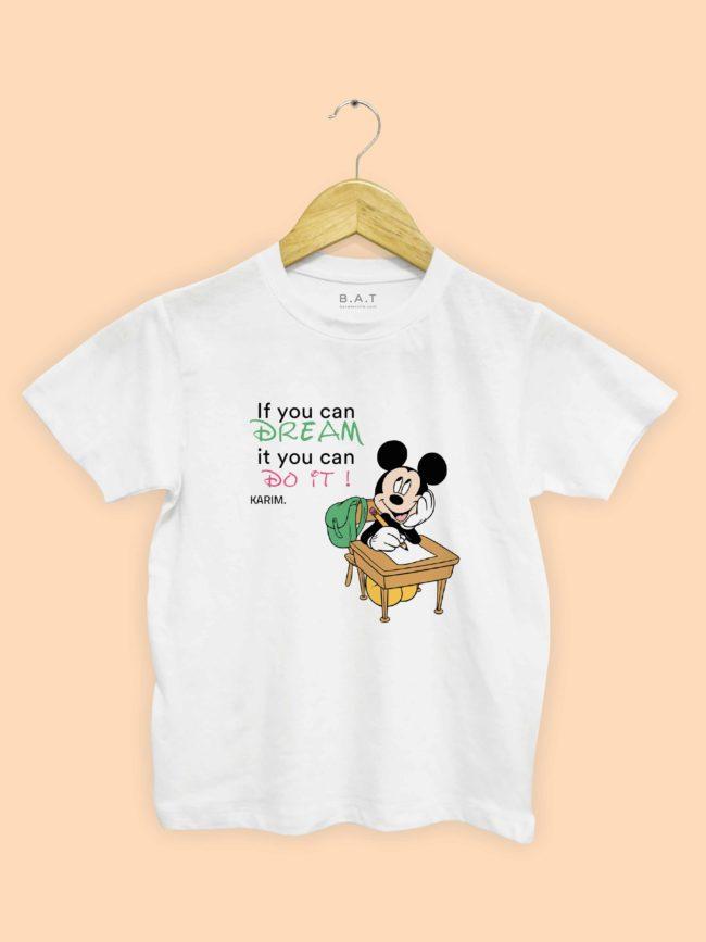 T-shirt Mickey – Dream