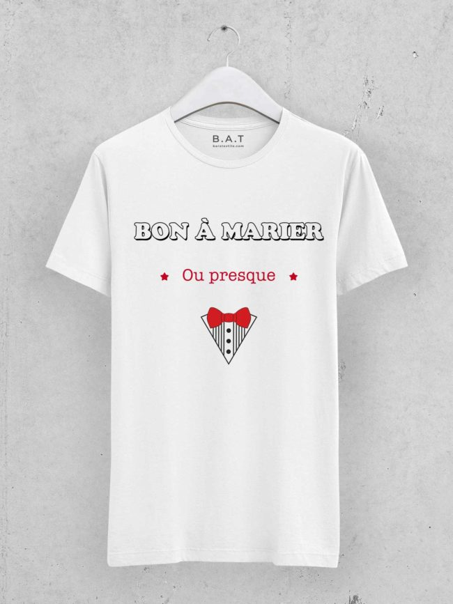 T-shirt Bon à marier 1 – EVG