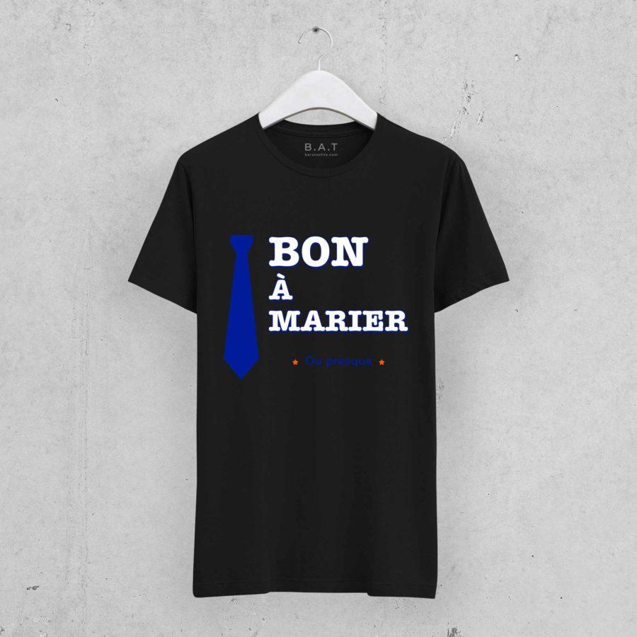 T-shirt Bon à marier 2 – EVG