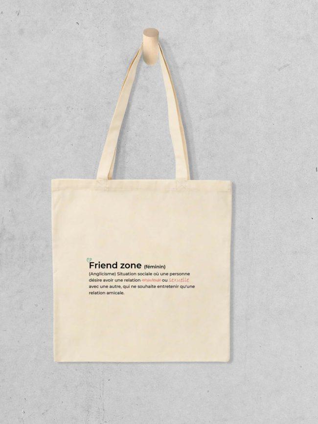 Tote bag Friend zone