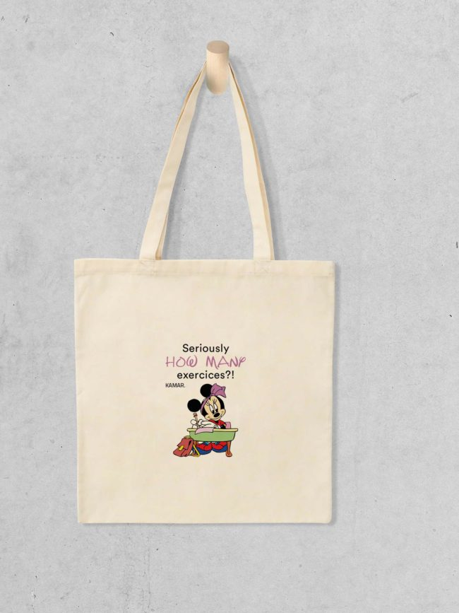 Tote bag Minnie – Excercices