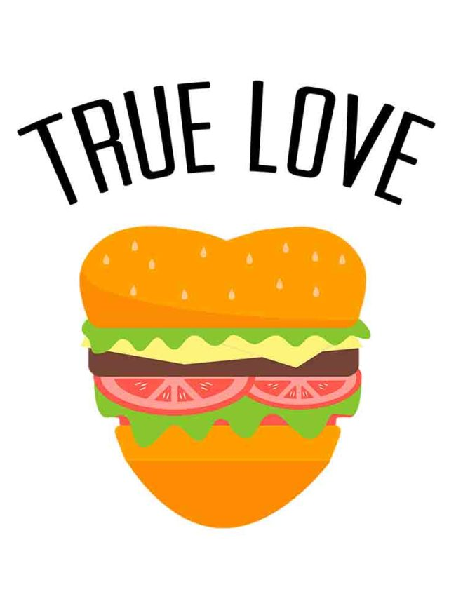 T-shirt True love