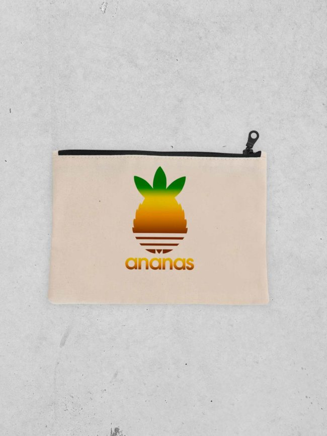 Pochette Ananas coloré