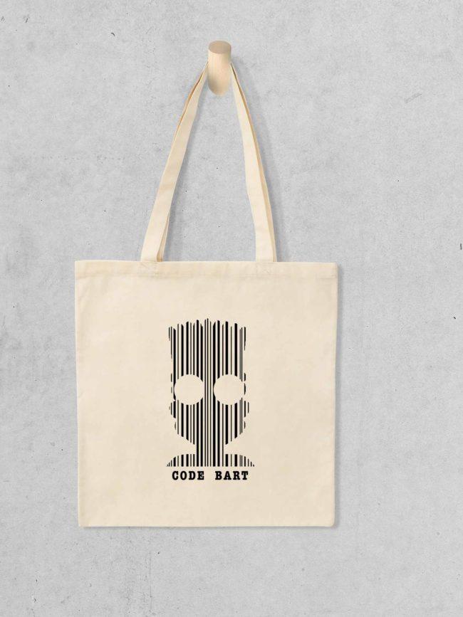 Tote bag Code bart
