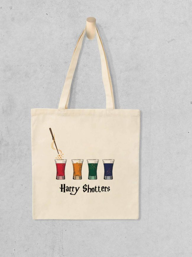 Tote bag Harry shotters