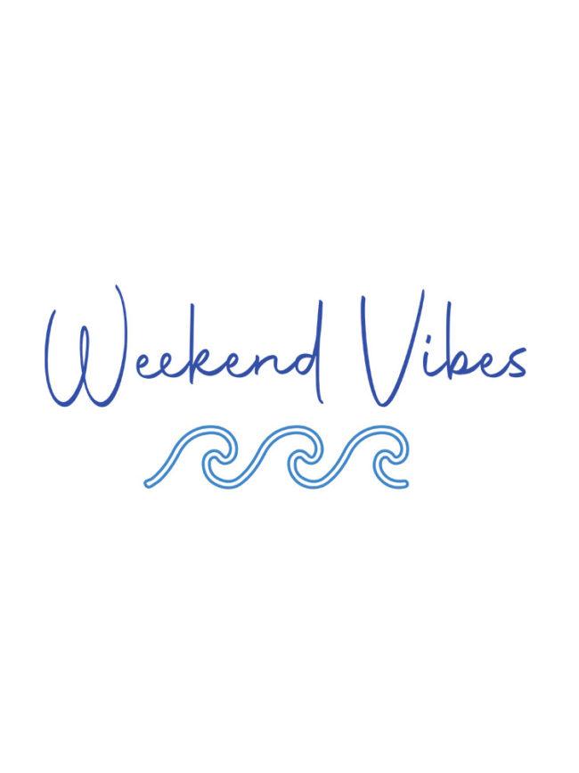 Sweat Weekend vibes