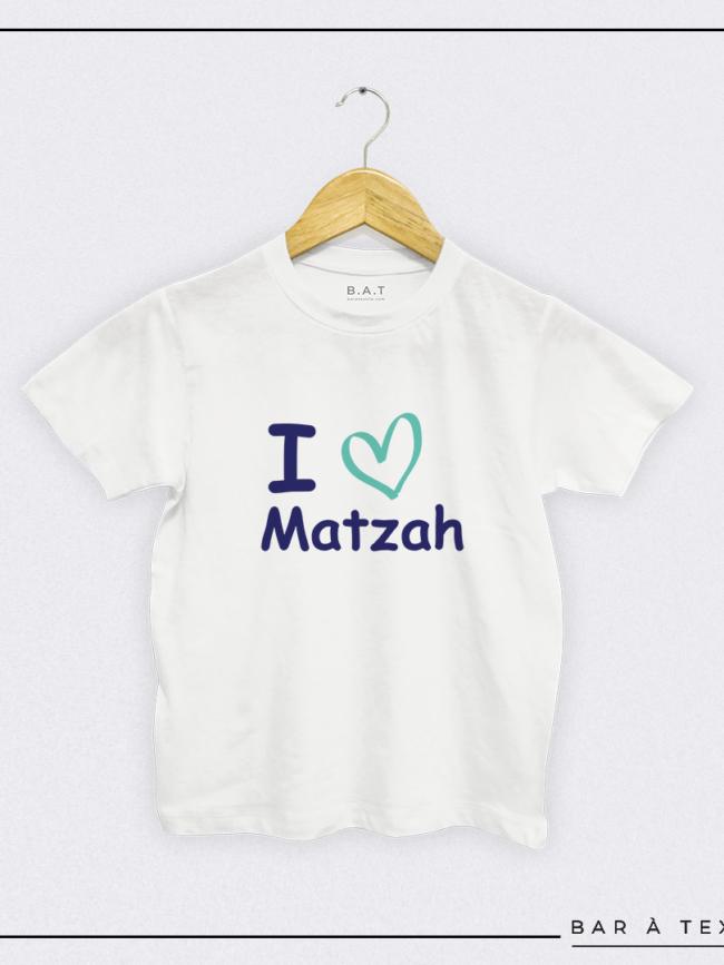 T-shirt I love Matzah