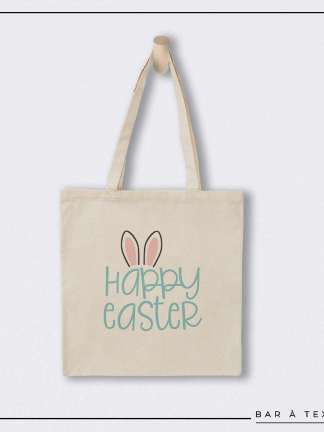 Tote bag Happy Easter