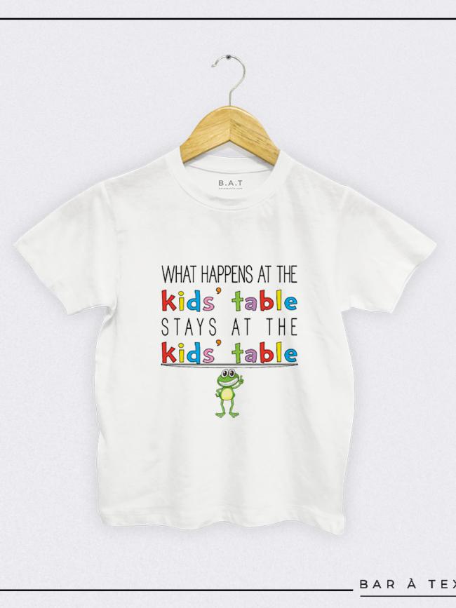 T-shirt What happens