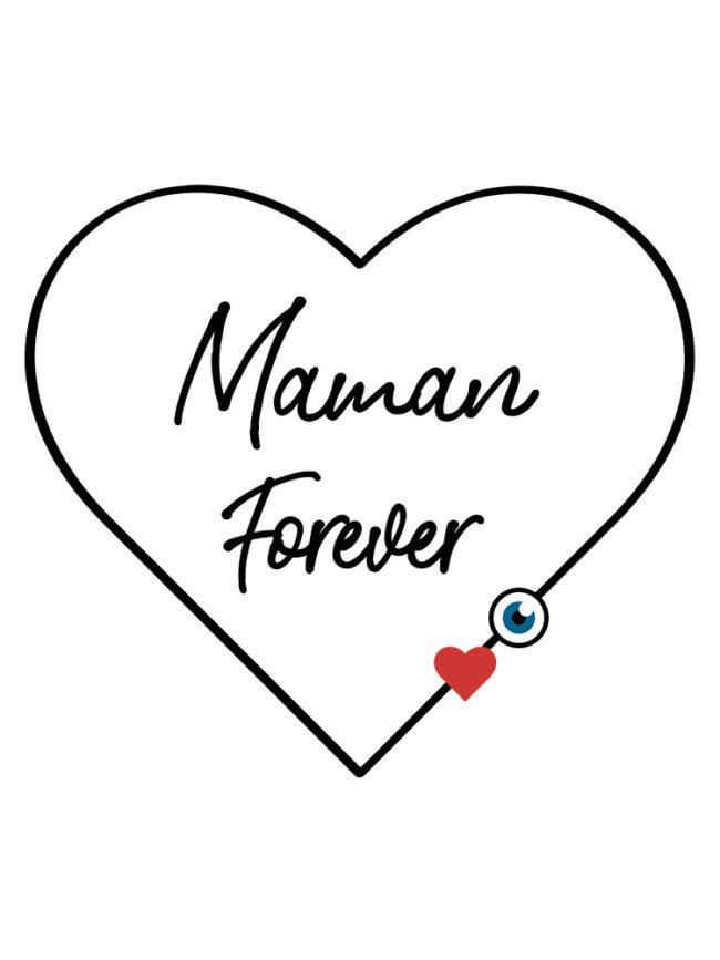 Tote bag Maman forever