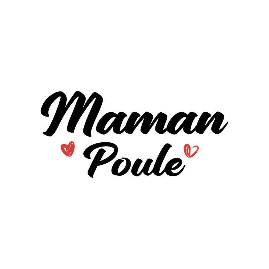 T-shirt Maman poule