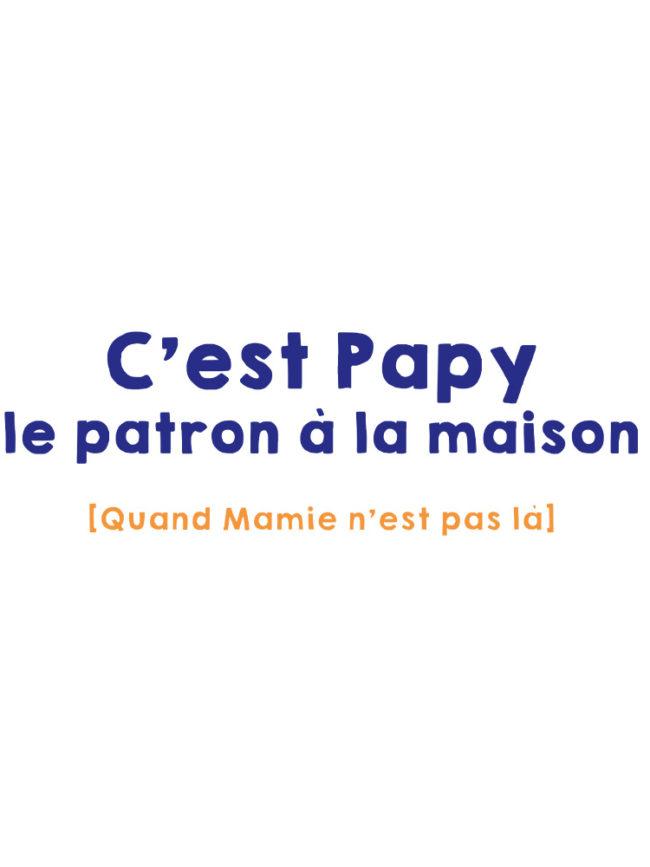 T-shirt Papy le patron