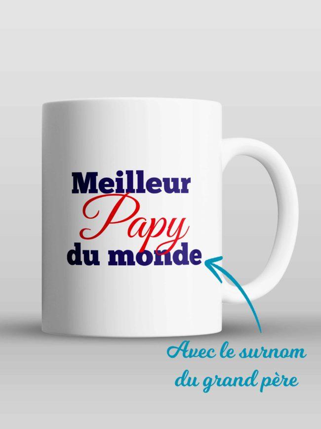 Mug Meilleur papy du monde