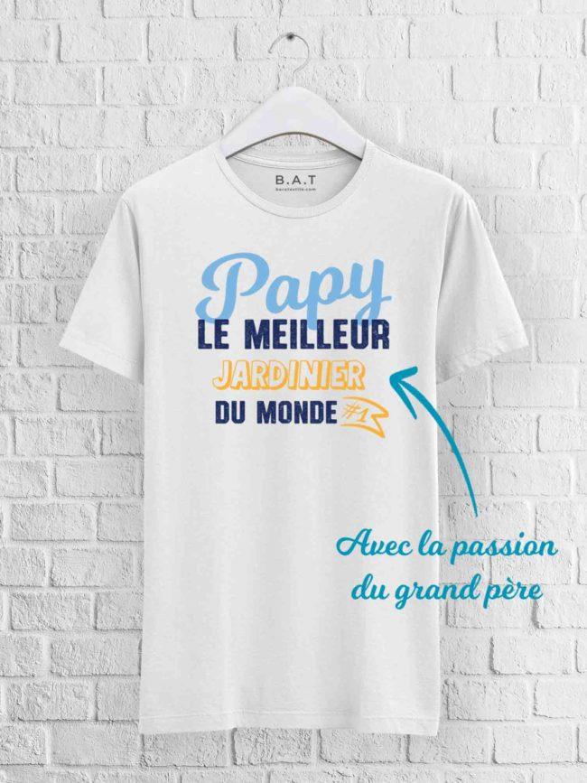 T-shirt Papy le meilleur