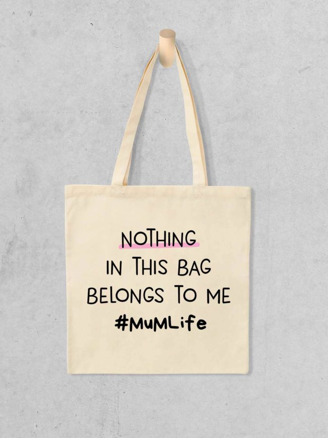 Tote Bag Nothing in this bag